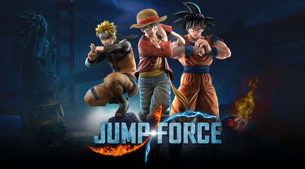 Jump Force - Naruto, One Piece e Dragon Ball Z