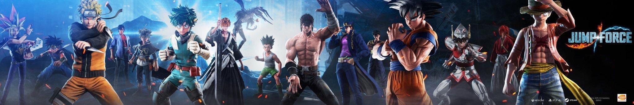 Jump Force - Personagens