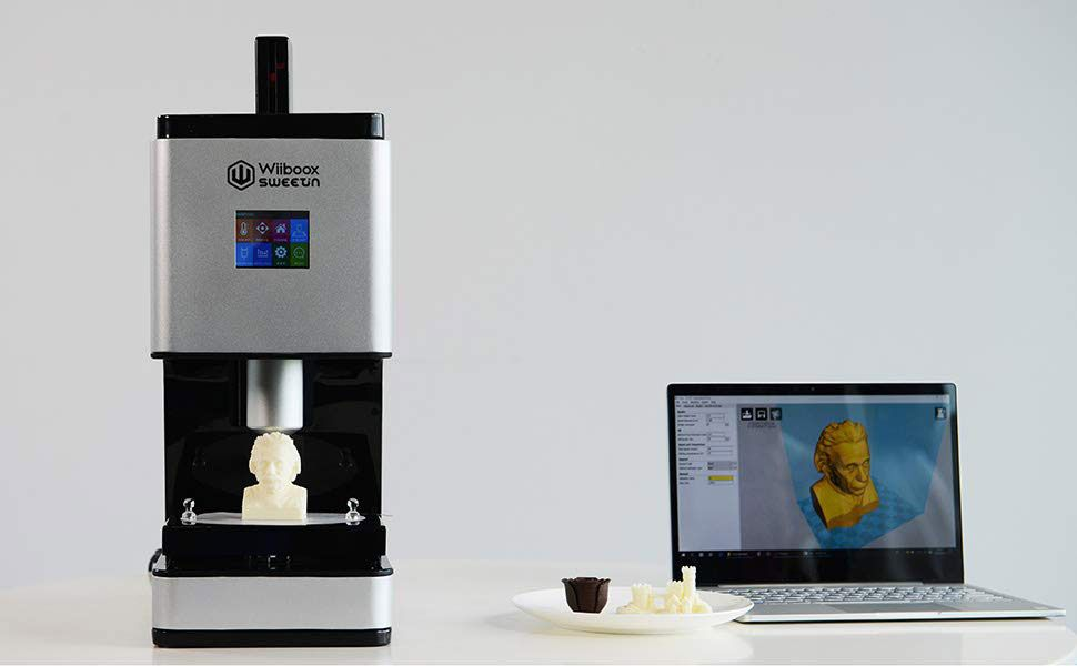Wiiboox Sweetin - Impressora 3D estará na Inside 3D Printing