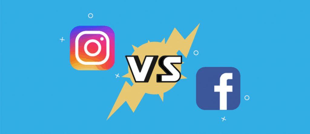 Instagram VS Facebook - Marketing