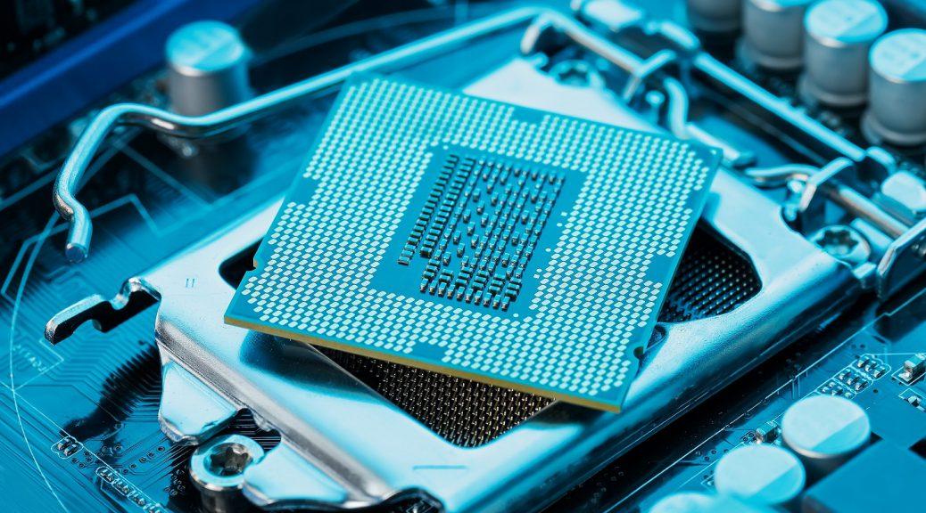 Chip da 11ª geração de processadores Intel